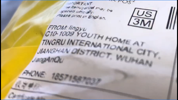 Can you open packages shipped from Wuhan, China, during the coronavirus outbreak?