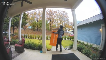 Keeping your packages safe from porch pirates