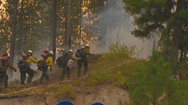 US to bolster firefighter ranks as wildfires burn year-round