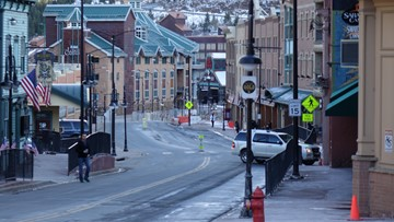 Fewer than 150 people live in this Colorado mountain town, but 20,000 people visit it every day