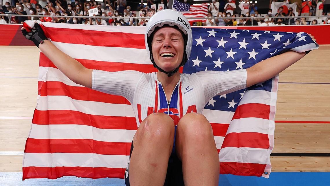 UCCS-alum wins U.S. its first women's Olympic track cycling gold