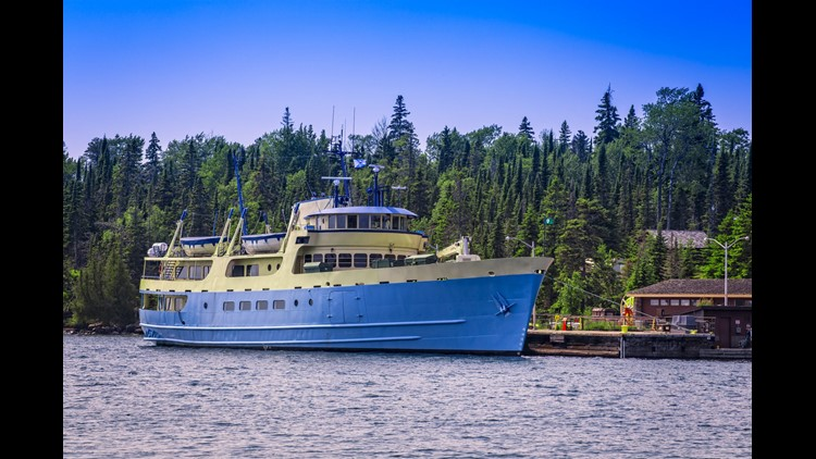 Ranger III is the park-operated ferry that can take you to Isle Royale National Park.(Photo by Steven Schremp / Shutterstock.com)