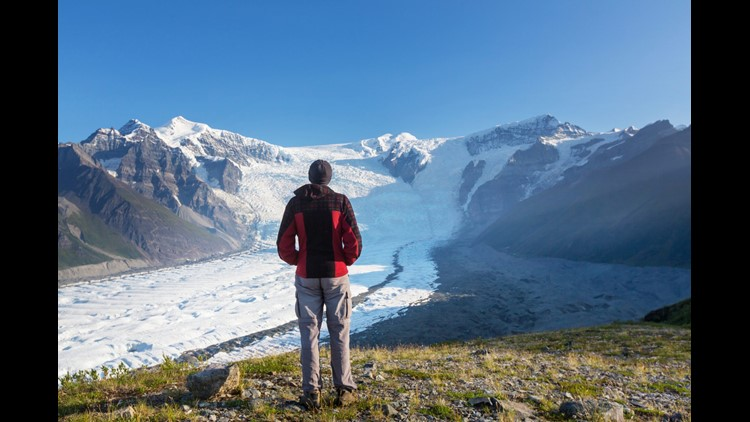 Massive mountains, glaciers, valleys and volcanoes remind us how small we are in Wrangell - St. Elias National Park.(Photo by Galyna Andrushko / Shutterstock.com)