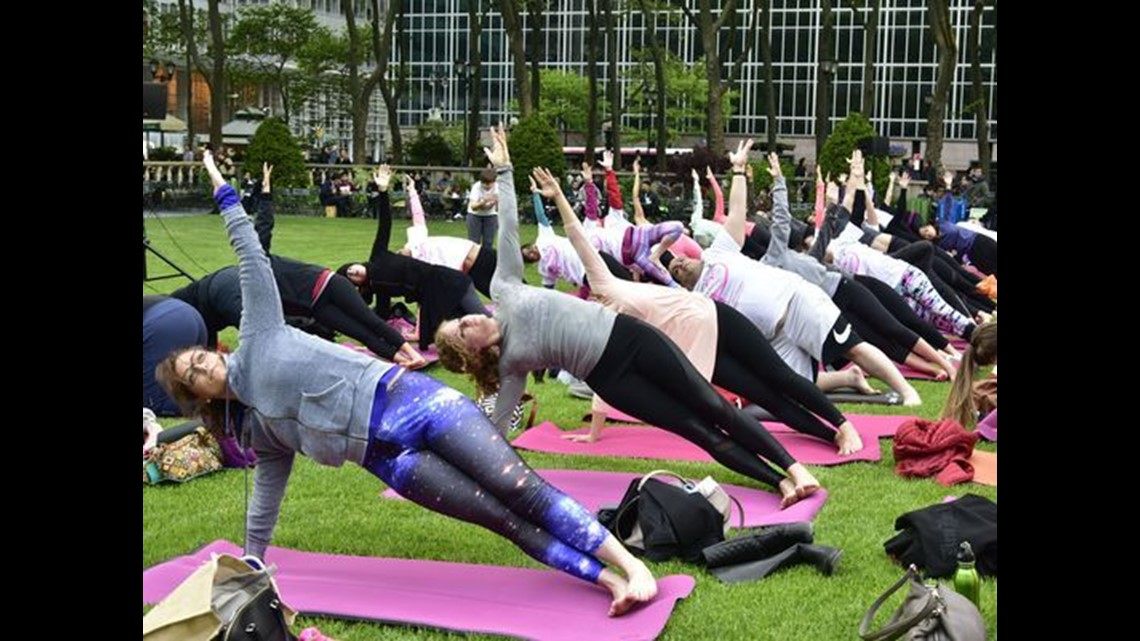 Since Election Yoga Rises Off The Mat To Take On Donald Trump King5 Com