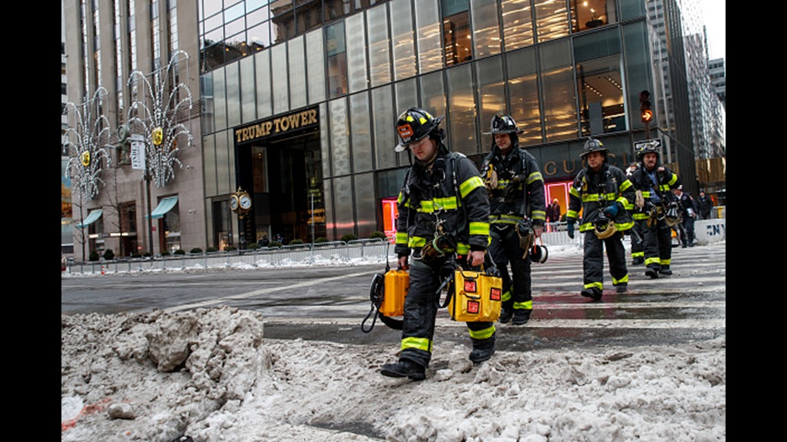 2 Injured In Trump Tower Heating System Fire In Nyc