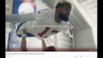 Eli Manning, Odell Beckham Jr. star in 'Dirty Dancing' Super Bowl ad for NFL