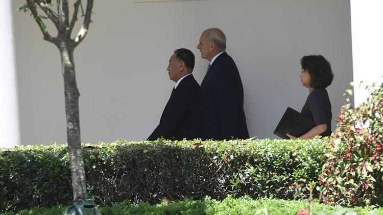 North Korean Kim Yong Chl White House