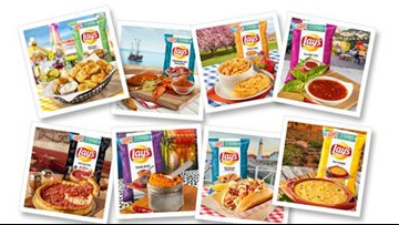 Lay's potato chips release 8 new regionally inspired flavors