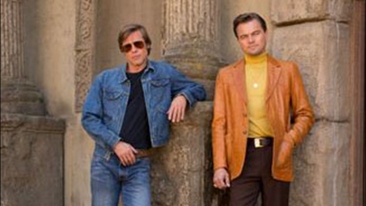 The photo in question showed Leonardo DiCaprio and Brad Pitt in character for 'Once Upon a Time in Hollywood.'