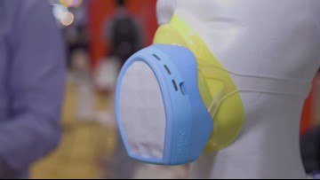 Company Debuts Smart Mask That Alerts Users Of Changes In Pollution Levels