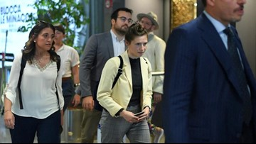 Amanda Knox Appears In Italy For The First Time Since Being Released From Prison