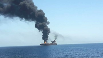 Tankers targeted near Strait of Hormuz amid Iran-US tensions
