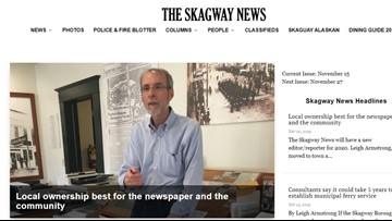 Willing to move to Alaska? This publisher might give you his newspaper business