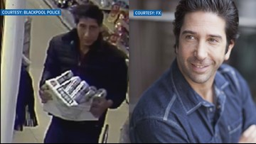 Suspected thief looks like Ross from Friends & hilarity ensues on social media