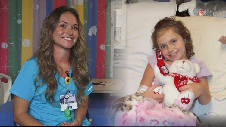 'It made me a fighter' | Woman accomplishes lifelong dream of being a nurse after battling leukemia