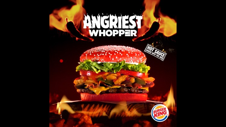 Do you dare? Burger King red bun Whopper is here   king5 com