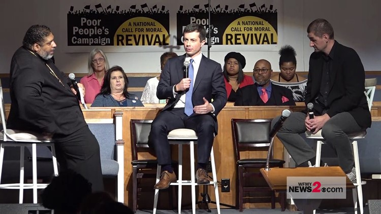 Pete Buttigieg Stops In North Carolina
