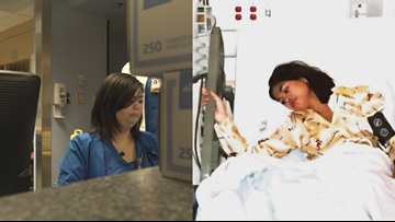 Former teen patient joins medical team that saved her life
