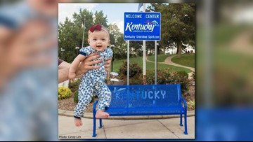 48 down, 2 to go: Baby visiting all 50 states on impressive road trip