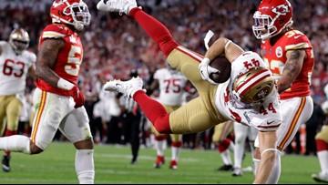 Watch: Kyle Juszczyk scores first fullback Super Bowl touchdown since 2003
