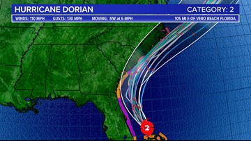 Tropical storm warnings issued for Midlands as Hurricane