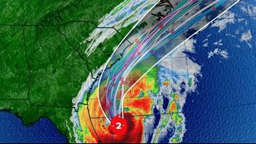 Hurricane Dorian track shifts, to begin impacting South