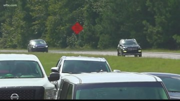 I-26 lane reversals in South Carolina to end Wednesday
