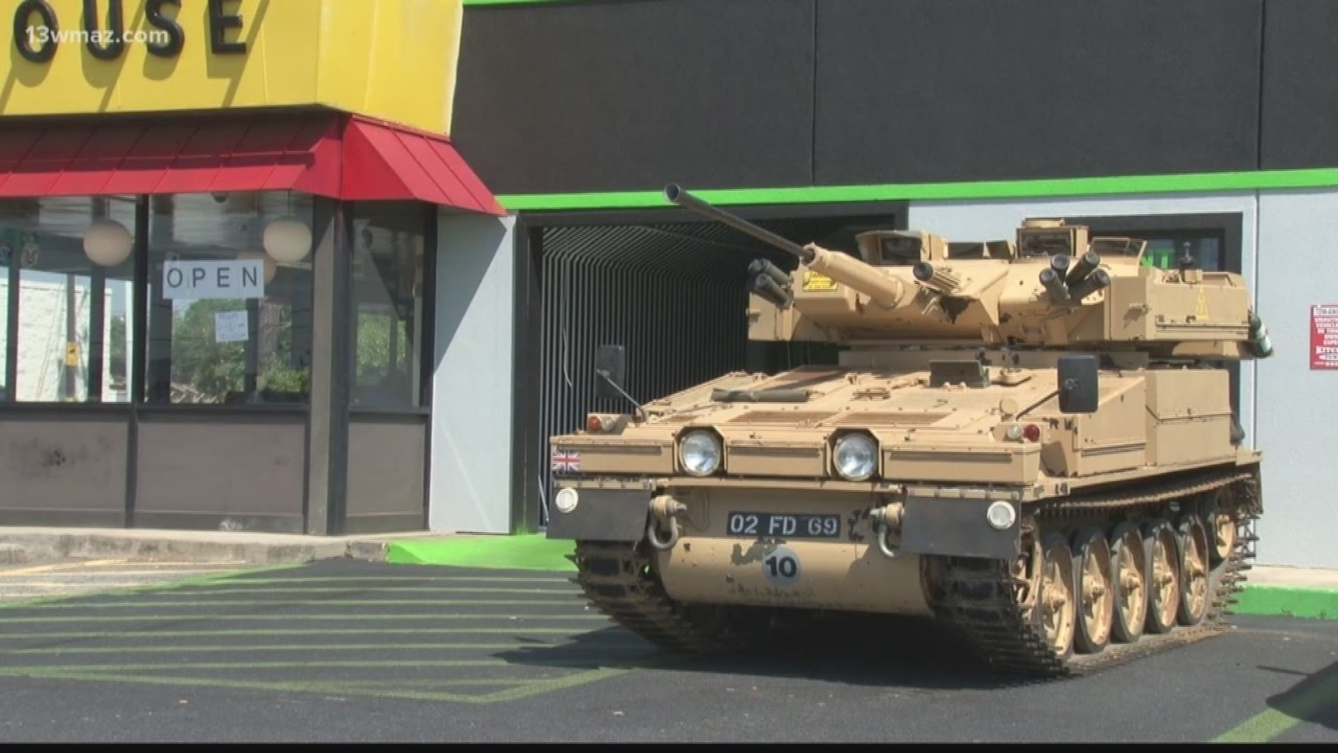 Is A Tank In Houston County With The National Guard King5 Com