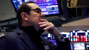 Stocks fall again after another dismal report on job losses