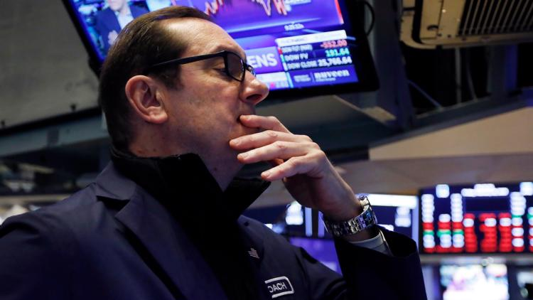 Stocks drop as coronavirus crunches the job market, economy
