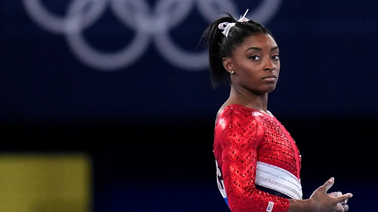 Simone Biles withdraws from Olympic vault, uneven bars finals