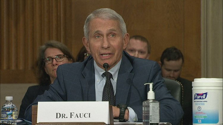 Fauci says CDC may back wearing face masks more