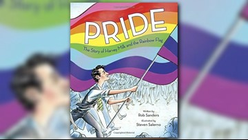 New children's book highlights legacy of gay icon Harvey Milk, creation of the Pride flag