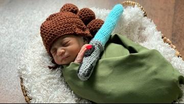 Florida hospital dresses newborns as Star Wars characters
