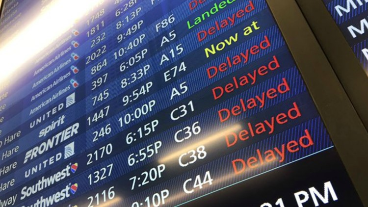What should you do if your flight gets canceled? Here are some tips