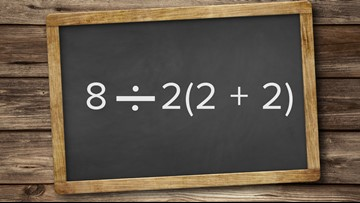 This math problem is dividing the internet