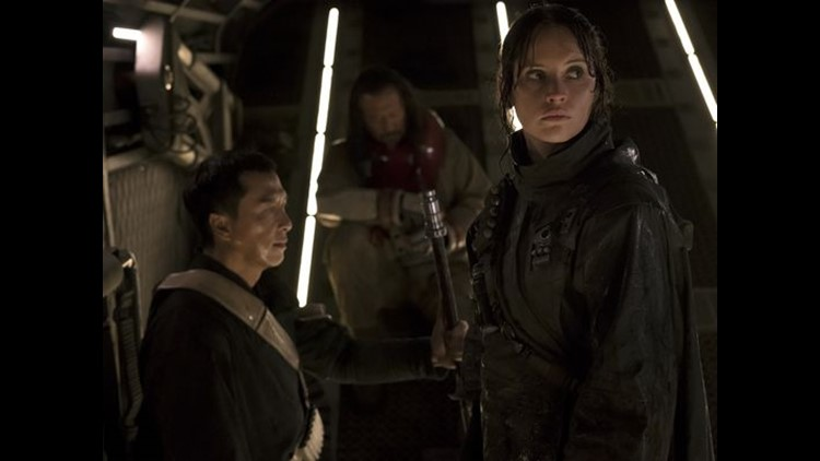 review rogue one struggles with ties to star wars past king5 com king5 com