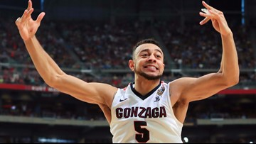 Gonzaga holds off South Carolina in Final Four to reach title game