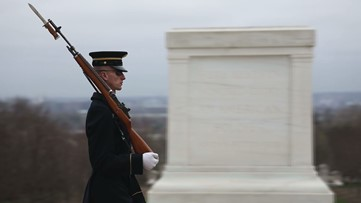Tomb of the Unknown Soldier sentinels continue their duty through coronavirus pandemic