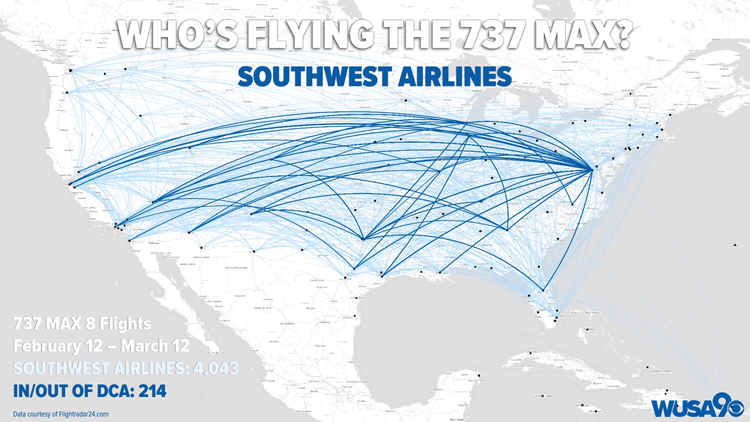 Who's Flying the 737 MAX: Southwest Airlines