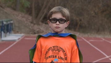 Virginia 9-year-old runs for kids with cancer: 'There are no age requirements to make a difference'