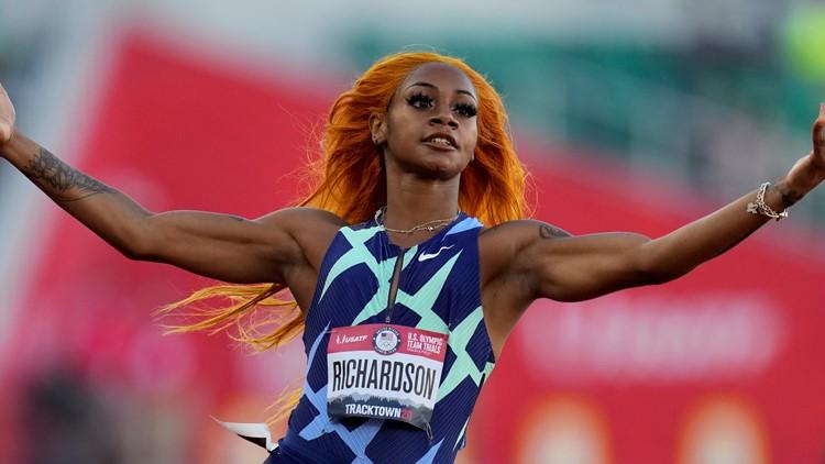 Sha'Carri Richardson to race Jamaican sprinters who swept Olympic 100m podium
