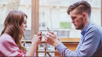 Date night challenge: Leave your phone at home. Yes, you can do it.