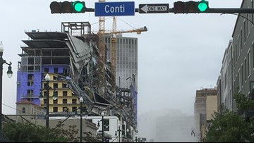 'We are in rescue mode:' 2 dead, 1 missing, 30 hurt in New Orleans hotel collapse