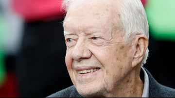 President Jimmy Carter released from hospital day before Thanksgiving