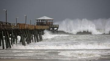 WATCH | Hurricane Florence live streams from the Carolina coastline