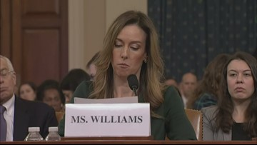 Jennifer Williams provides opening statement in impeachment hearing